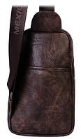 Мужская кожаная сумка. Модель 61330, фото 7