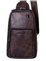Мужская кожаная сумка. Модель 61330, фото 9