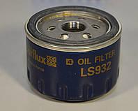 Фильтр масла на Renault Kangoo 1997->2008  1.5dCi, 1.9D, 1.4i, 1.6i, 1.6v - Purflux (Франция)  - PX LS932