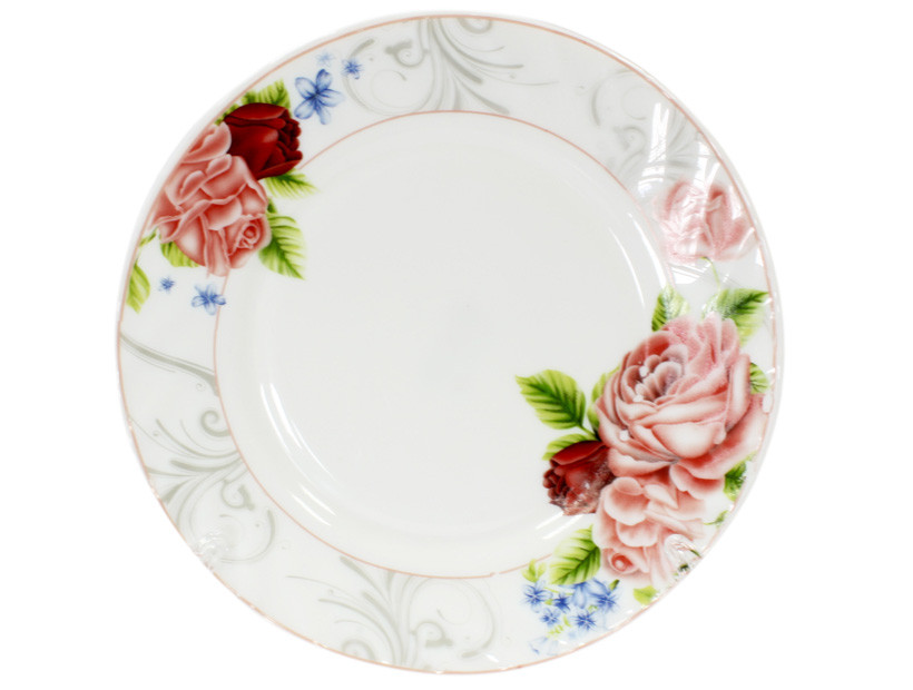 Тарелка Ø 20 см Розовая роза 1071