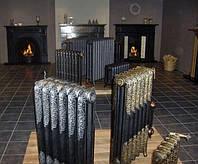 Чугунные ретро радиаторы с  орнаментом Великобритания., фото 1
