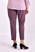Женские укороченные брюки B031-3 цвет бисквит размер 42-74, фото 2