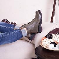 Ботинки кожаные т1033