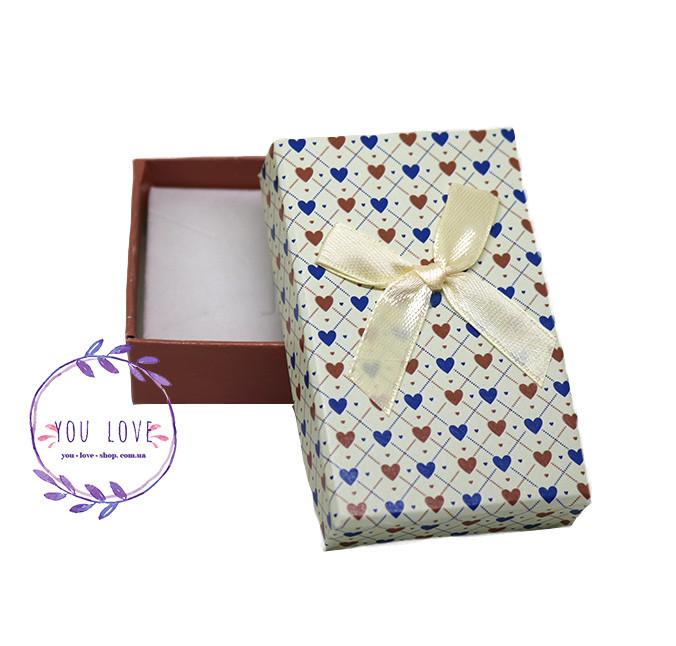 Коробочка для бижутерии Романтичная  Коробочка  Романтичная Бежевая