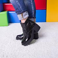 Ботинки кожаные т1017