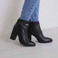 Ботинки кожаные т1095
