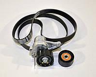 Комплект натяжитель + ролик + ремень на Renault Master III 2013-> - Renault (оригинал) - 117200334R