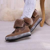 Ботинки кожаные  т1120