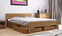 Кровать РОЯЛ с ящиками из натурального дерева, Арбор Древ