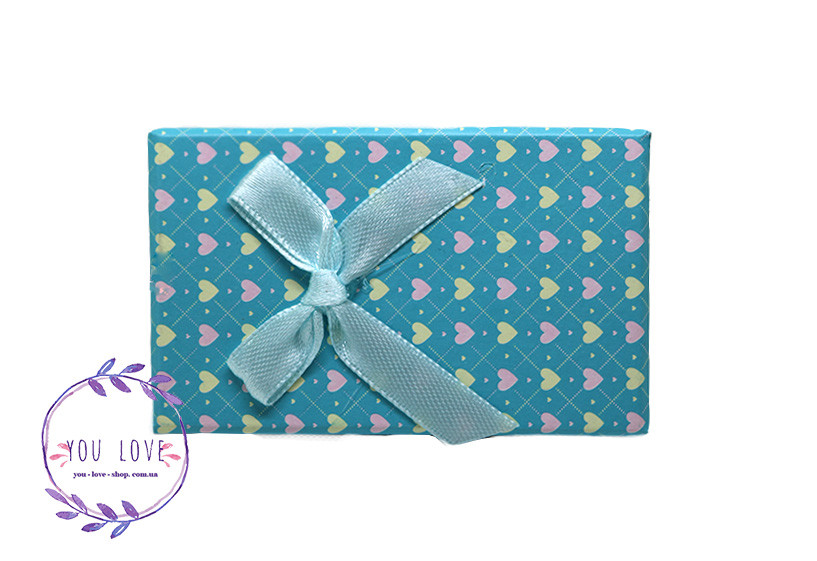 Коробочка для бижутерии Романтичная  Коробочка  Романтичная Голубая