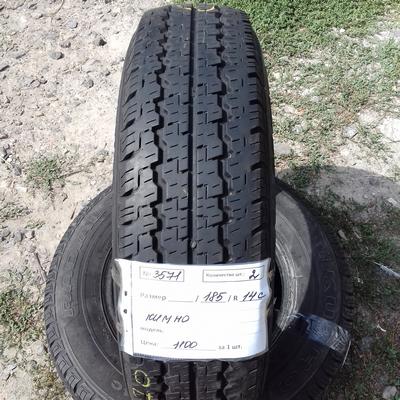 Бусовские шины б.у. / резина бу 185.r14с Kumho Radial 857 Кумхо