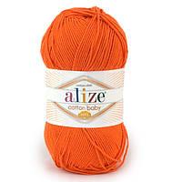 Пряжа для ручного вязания Alize cotton baby soft Продажа упаковками!