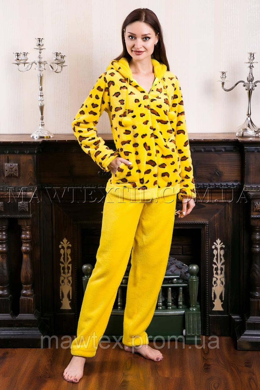 Пижама женская Leopard желтая   продажа cd388adb3ec4a