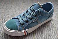 Детские джинсовые кеды B&G размер 32-38
