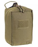 Медицинский подсумок Tasmanian Tiger Base Medic Pouch khaki, материал - Cordura 500 DEN, защитный TT 7722.343