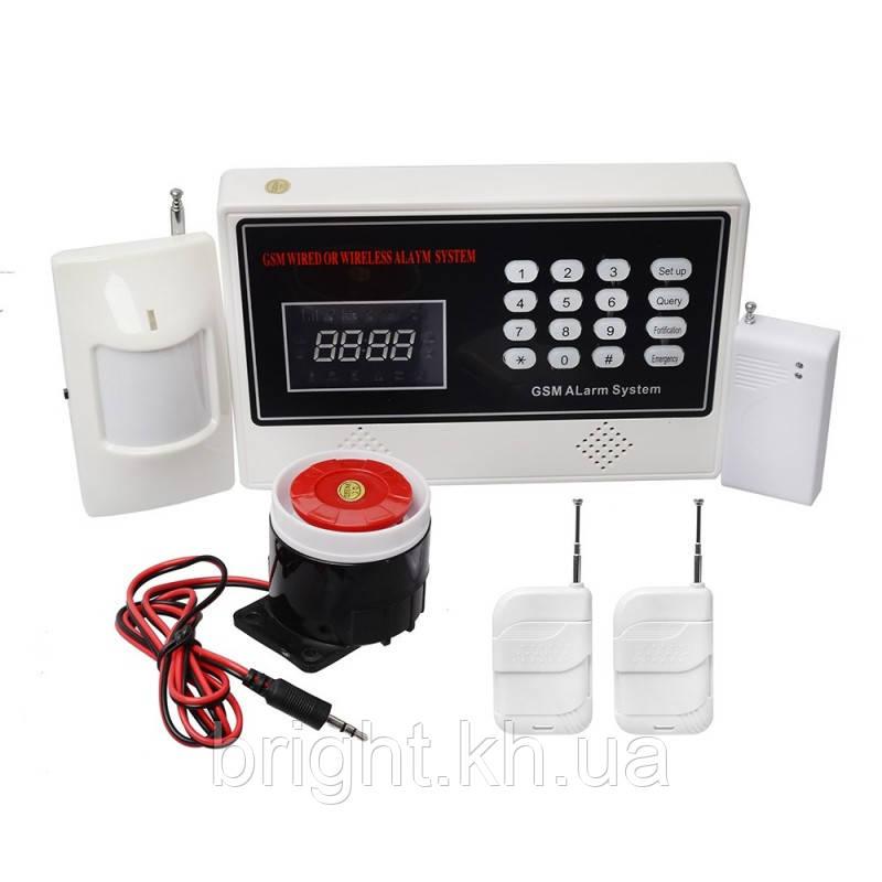 Комплект GSM сигнализации COLARIX ALM-GSM-002 - Брайт интернет-магазин в Харькове