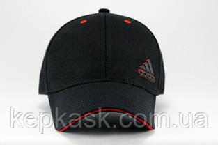 Бейсболка коттон Black Adidas-5, фото 2