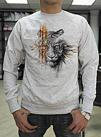 Мужской свитшот с тигром