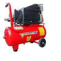 Компрессор Forte NC-24-10 10 атм. 1,8 кВт, вход: 285 л/мин., ресивер 24 л BPS