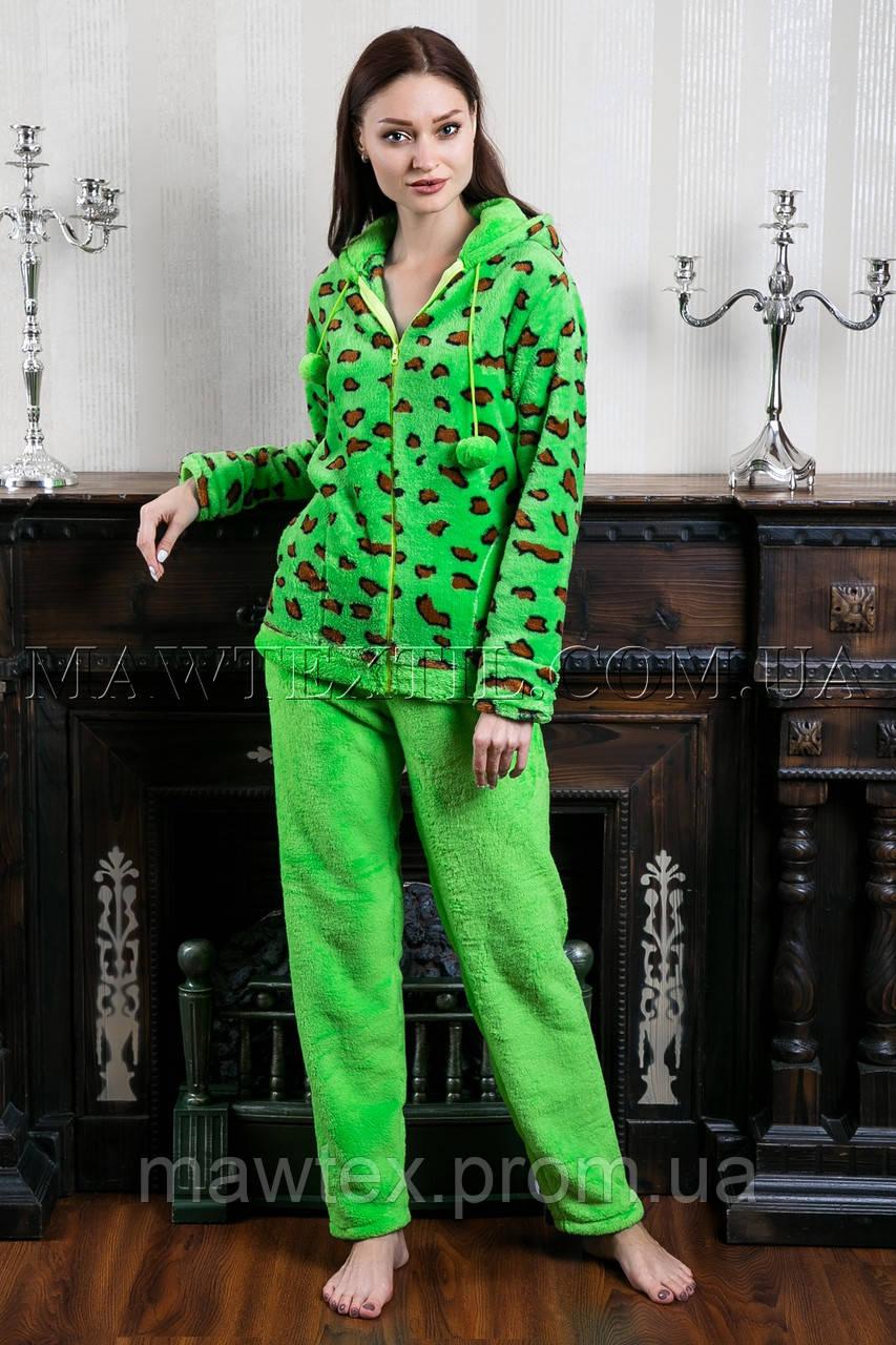 Пижама женская Leopard зеленая   продажа 0eec157460d89
