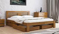Кровать ШОПЕН с ящиками из натурального дерева, Арбор Древ