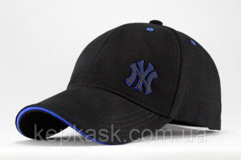 Бейсболка коттон Black New York-3