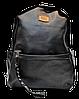 Мужской рюкзак MR. GHАO из искусственной кожи черного цвета BBQ-808522