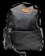 Мужской рюкзак MR. GHАO из искусственной кожи черного цвета BBQ-808522, фото 1