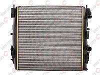 Радиатор охлаждения двигателя на Renault Kangoo 97->08  (+/-AC) 460x470x30 - Nissens (Дания) - NIS 63762