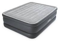Велюровая двуспальная надувная кровать Intex 64140