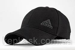 Бейсболка коттон Black Adidas-2
