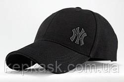 Бейсболка коттон Black New York-2