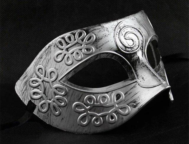 Маска римская мужская карнавальная