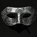Маска римская мужская карнавальная , фото 2