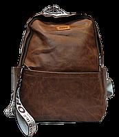 Мужской рюкзак MR. GHАO из искусственной кожи коричневого цвета BBQ-808532, фото 1