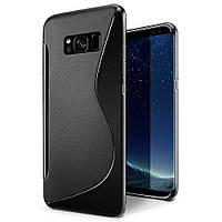 Чехол Samsung S8 / G950 силикон TPU S-LINE черный