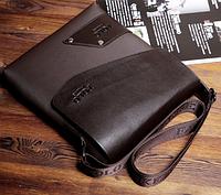 Чоловіча шкіряна сумка. Модель 61339, фото 4
