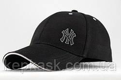 Бейсболка коттон Black New York-1