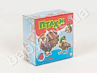 Кубики пластмассовые 4 шт Птицы MTH-KUBIKI4-PTITSI