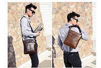 Мужская кожаная сумка. Модель 63152, фото 8