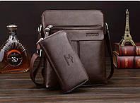 Мужская кожаная сумка. Модель 63152, фото 2