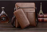 Мужская кожаная сумка. Модель 63152, фото 3