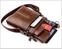 Мужская кожаная сумка. Модель 63152, фото 7