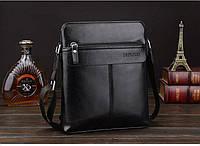 Мужская кожаная сумка. Модель 63152, фото 4