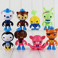 Фигурки-игрушки Октонавты (OCTONAUTS) набор, 8 шт, фото 1