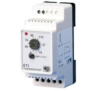 Терморегулятор для обогрева труб и ёмкостей в пром.условиях ETI-1221- OJ Electronics (Дания), гарантия 3 года.