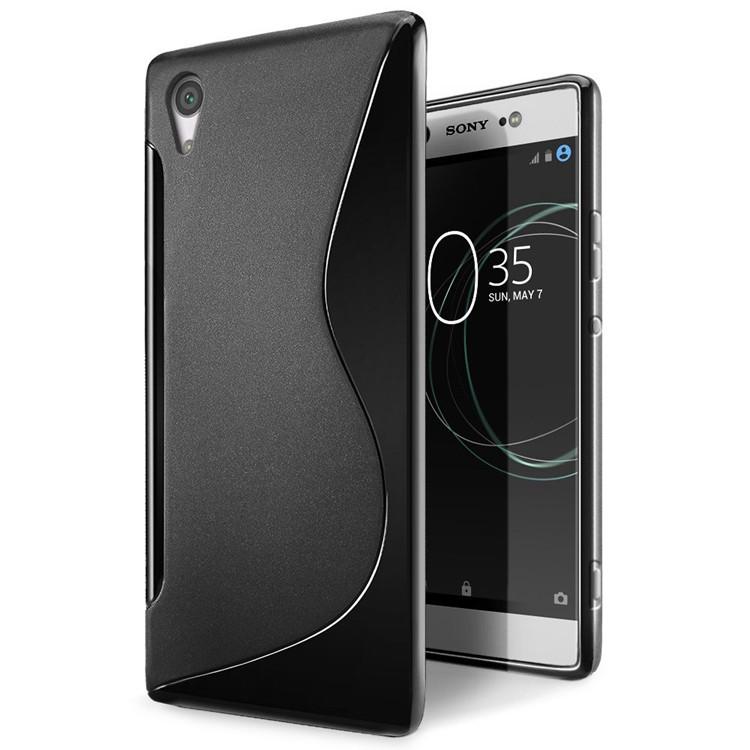Чехол Sony XA1 / G3112 / G3116 / G3121 / G3123 / G3125 силикон TPU S-LINE черный
