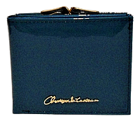 Женский лаковый кошелек BАLISА бирюзового цвета из кожзама WLP-069872