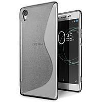 Чехол Sony XA1 / G3112 / G3116 / G3121 / G3123 / G3125 силикон TPU S-LINE серый