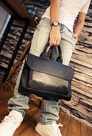 Мужская кожаная сумка. Модель 61341, фото 7